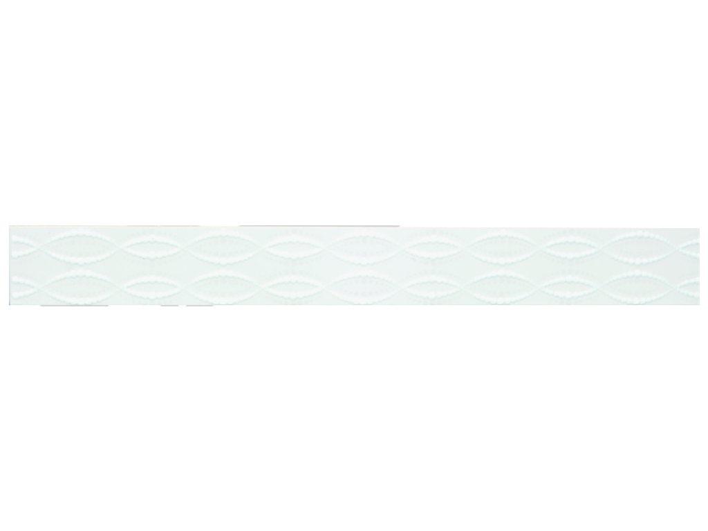 YUK00080 MOON WHITE LISTELLO 6X50