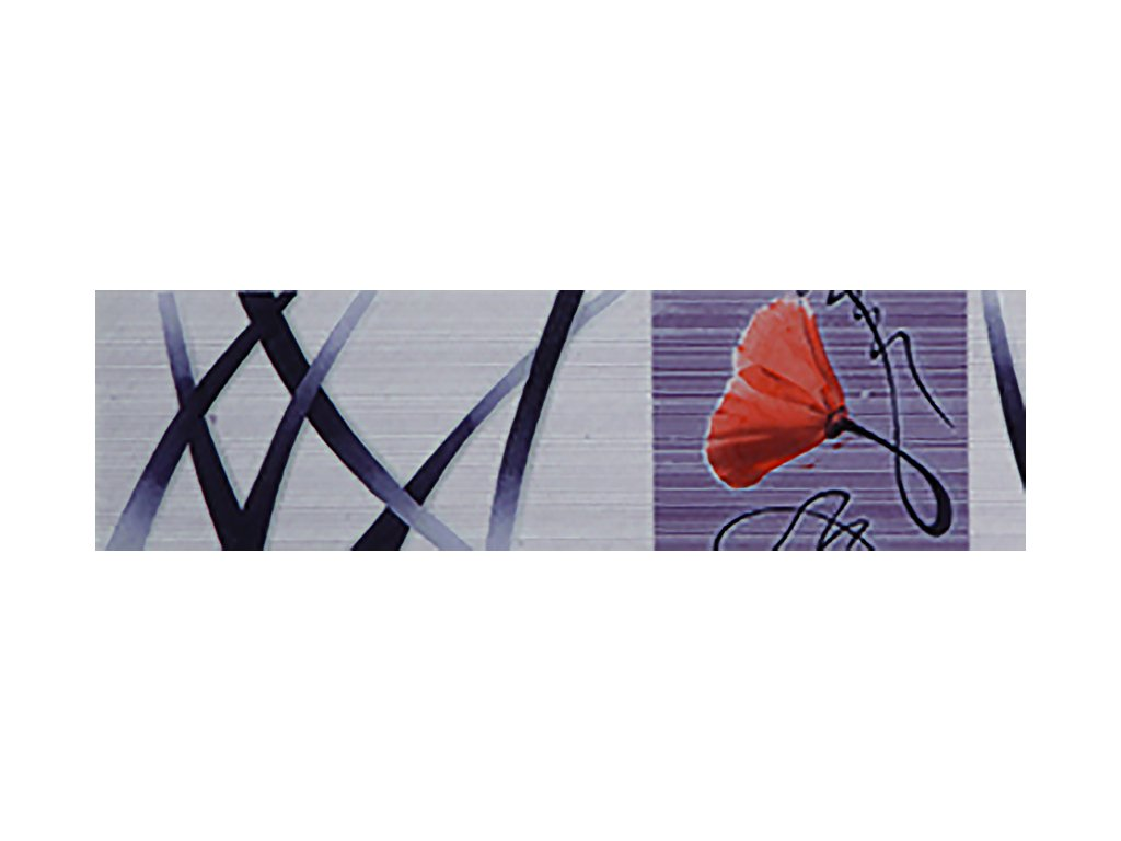 YUK00033 efes lila listello 7x25 cm