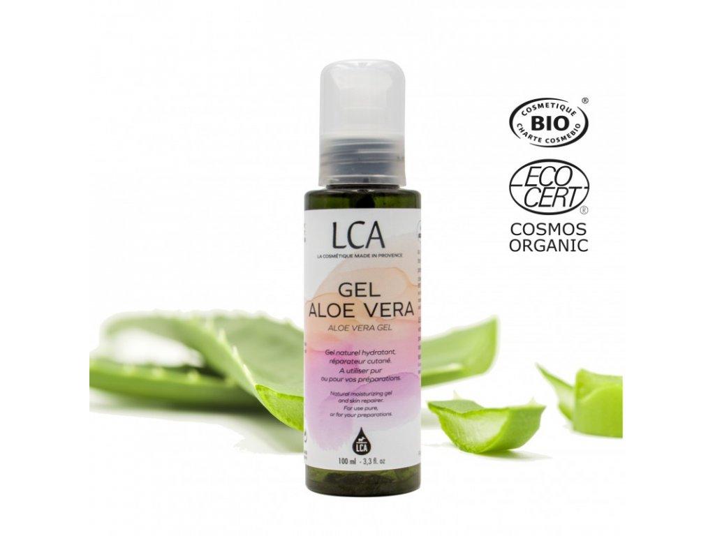 Organický Aloe vera gel, 100 ml