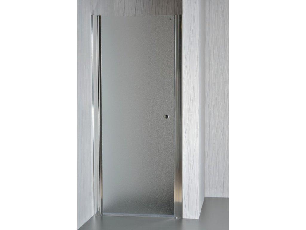 Sprchové dveře MOON 95 100 cm matné sklo, sprchová zástěna