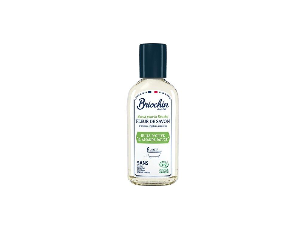 Fleur de savon Sprchový gel MINI - olivový olej a sladká mandle, 75ml