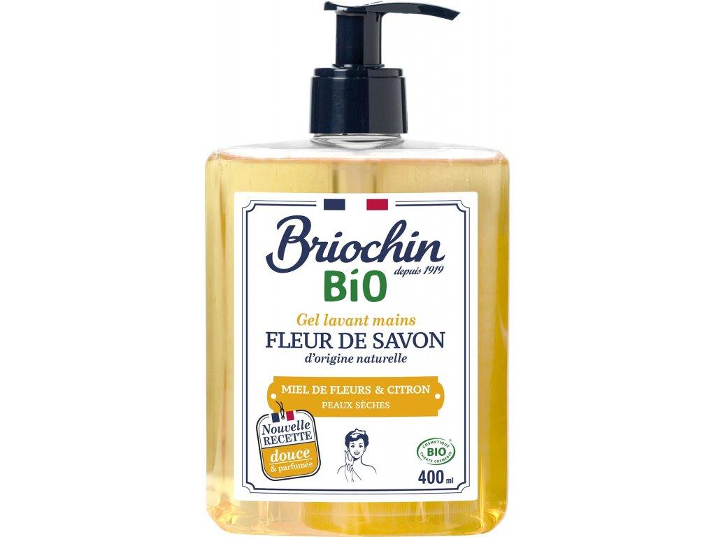 Fleur de savon Tekuté mýdlo na ruce med a citron, 400ml Arttec