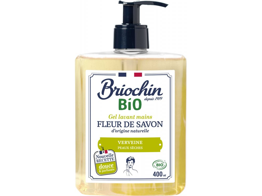 Fleur de savon Tekuté mýdlo na ruce - verbena, 400ml