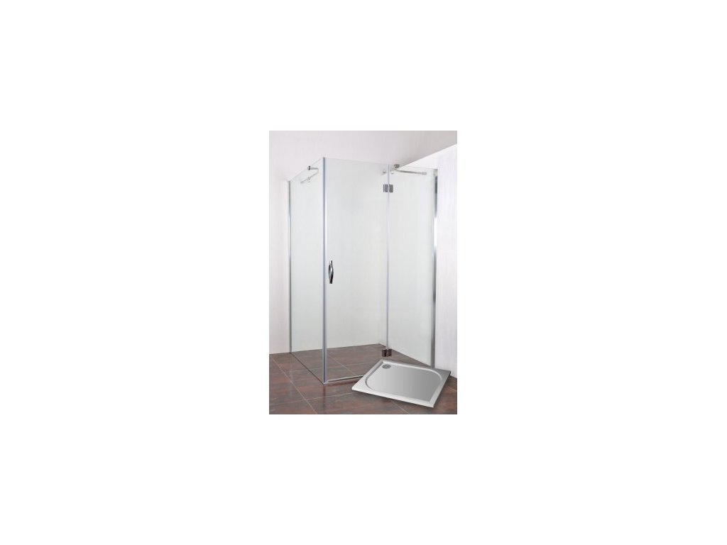 ARTTEC INFINITY D80-SP100 P - Sprchový set s vaničkou STONE 1080S