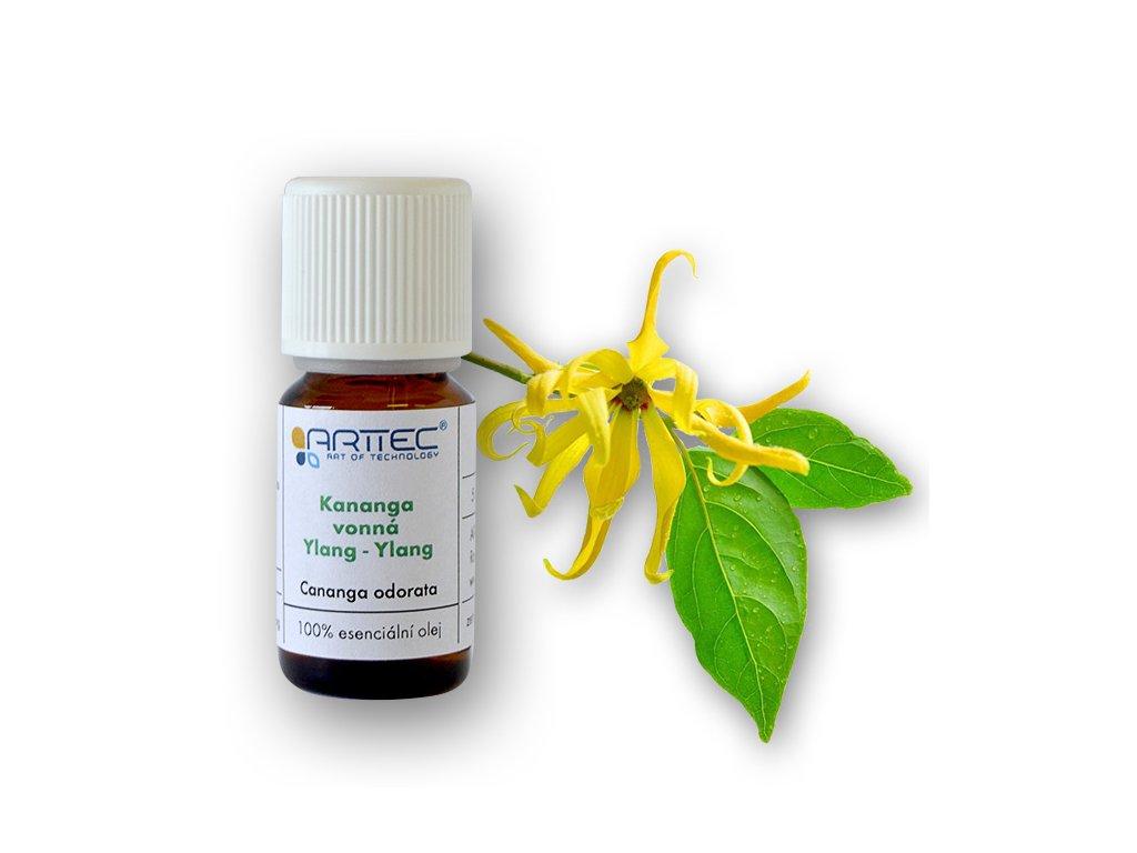 Kananga vonná bio (Cananga odorata totum) , Ylang - ylang
