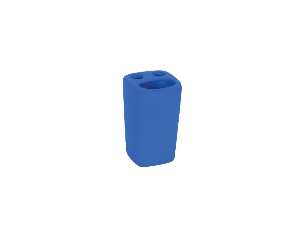 Kelímek na kartáčky a pastu - HAITI - keramika - dark blue