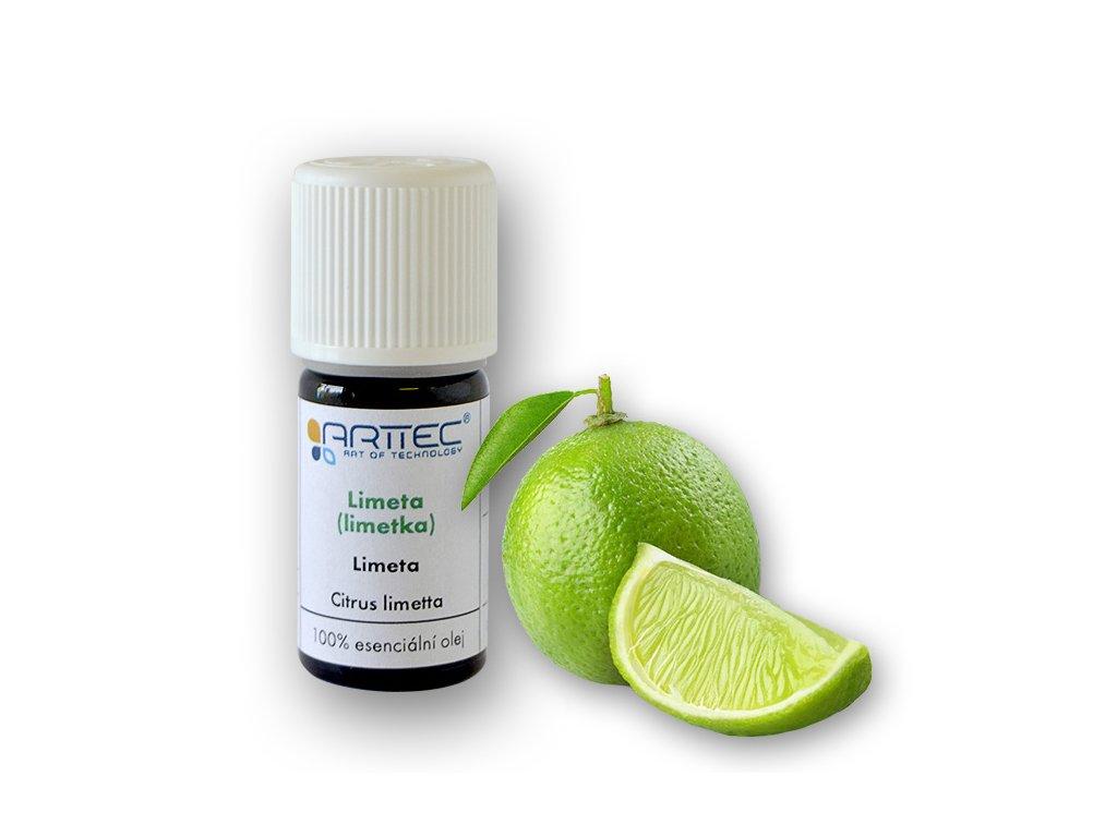 Limeta - též limetka bio (Citrus aurantifolia)