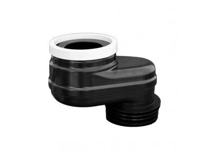 Manžeta WC excentrická vyosení o 100 mm, průměr 110