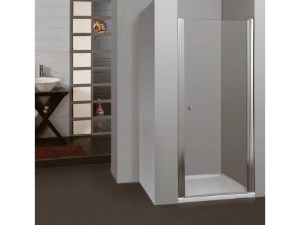 ARTTEC MOON 95 clear NEW - Sprchové dveře do niky