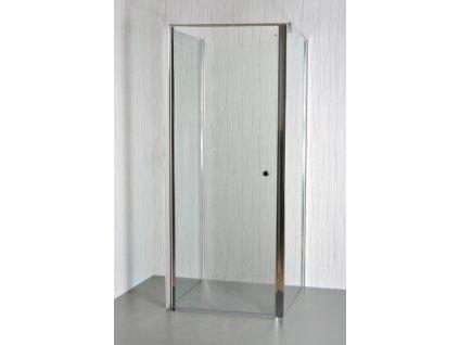 ARTTEC MOON B14 - Sprchový kout nástěnný clear 85 - 90 x 76,5 - 78 x 195 cm