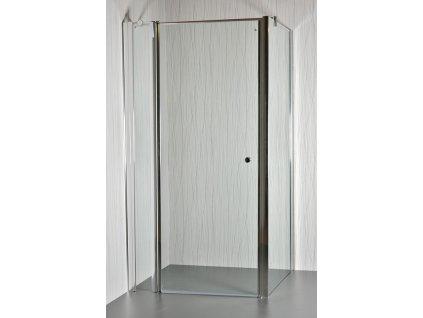 ARTTEC MOON D13 - Sprchový kout clear - 96 - 101 x 76,5 - 78 x 195 cm