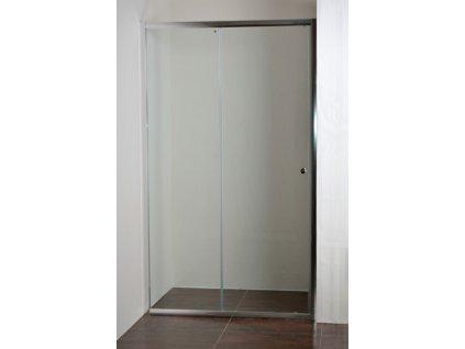 ONYX 120 NEW Sprchové dveře do niky s vaničkou POLARIS 1280S