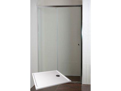 ONYX 120 NEW Sprchové dveře do niky s vaničkou POLARIS 1290S