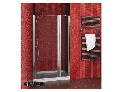 ARTTEC P-20 grape NEW - ke sprchovým dveřím MOON, SALOON-rozšíření o 16cm