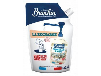 Prostředek na nádobí a ruce pro citlivou pokožku náhradní náplň, 500ml Arttec