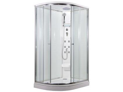 SIRIUS sprchový masážní box model 5 strop sedátko Pravý