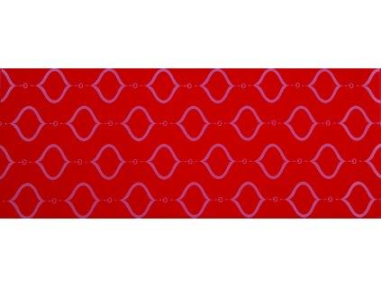 YUK00017 MADALYON RED DECOR 20X50