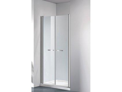ARTTEC COMFORT 81-86 clear NEW - Sprchové dveře do niky