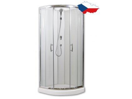 Briliant 80 model 1 sprchový box česká výroba
