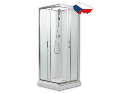 Smaragd 80 model 1 sprchový box česká výroba