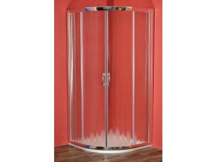 Briliant sprchový kout 90 x 90 cm s vaničkou a panelem