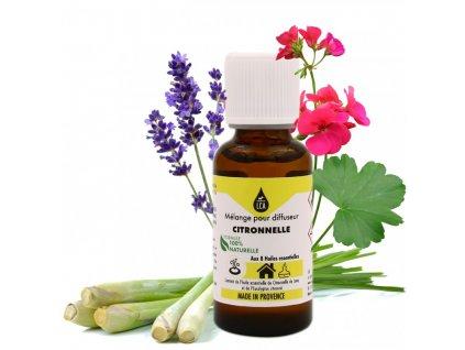 Citronnella difuzér mix - aromatická kompozice proti komárům esenciální olej