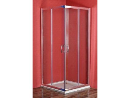 SMARAGD 90 x 90 cm clear Sprchový kout čtvercový