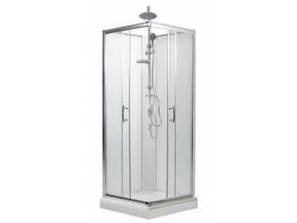 sprchový box 80 cm sprchový set matné sklo