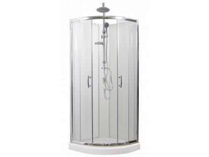 Sprchový box BRILIANT 80 x 80 cm sprchový set