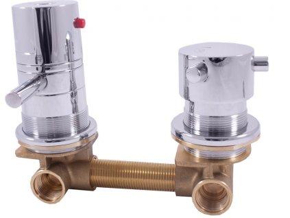 TERMOSTATICKÁ Vodovodní baterie do boxů s dvoucestným ventilem