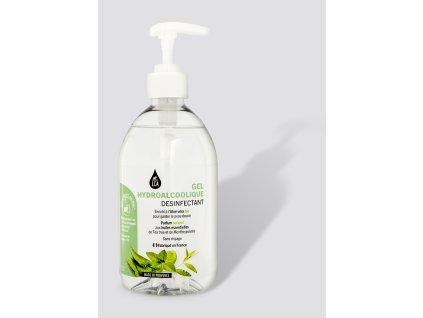 Desinfekční gel na ruce s organickými éterickými oleji a aloe vera 500 ml