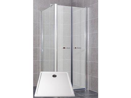 Sprchový kout nástěnný Comfort varianta A POLARIS 9090S
