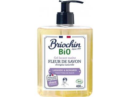 Fleur de savon Tekuté mýdlo na ruce levandule a rozmarýn, 400ml Arttec