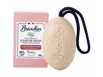 Fleur de savon Tuhé mýdlo - vlašský ořech a fík, 200g