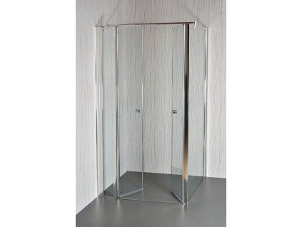 sprchový kout saloon otevřený dovnitř