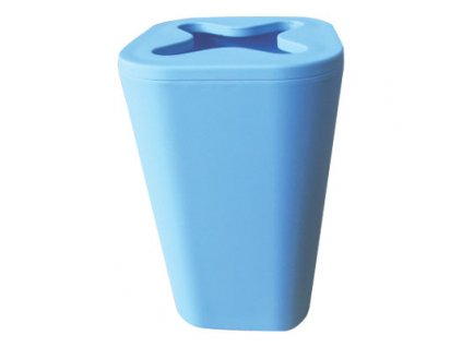 Kelímek na kartáčky a pastu - MONACO - plastic + rubber - blue