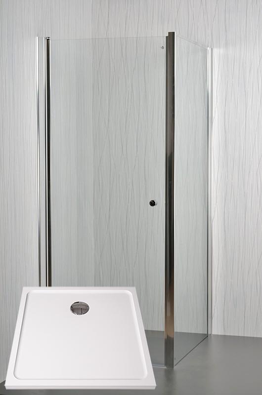 ARTTEC MOON A4 Sprchový kout 90 x 90 x 195 cm s vaničkou POLARIS 9090S PAN04467