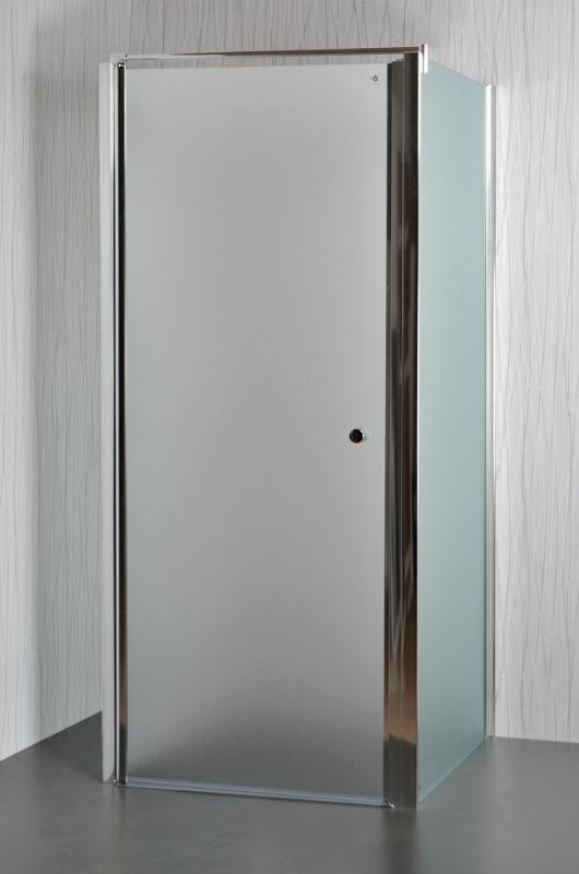 ARTTEC MOON B17 - Sprchový kout nástěnný grape 75 - 80 x 76,5 - 78 x 195 cm