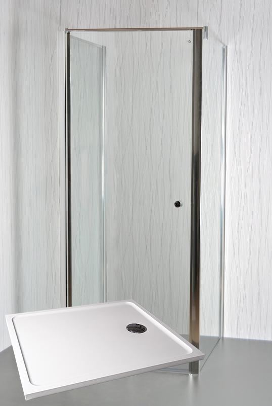 ARTTEC MOON B26 Sprchový kout 100 x 80 x 195 cm s vaničkou POLARIS 1080S PAN04492