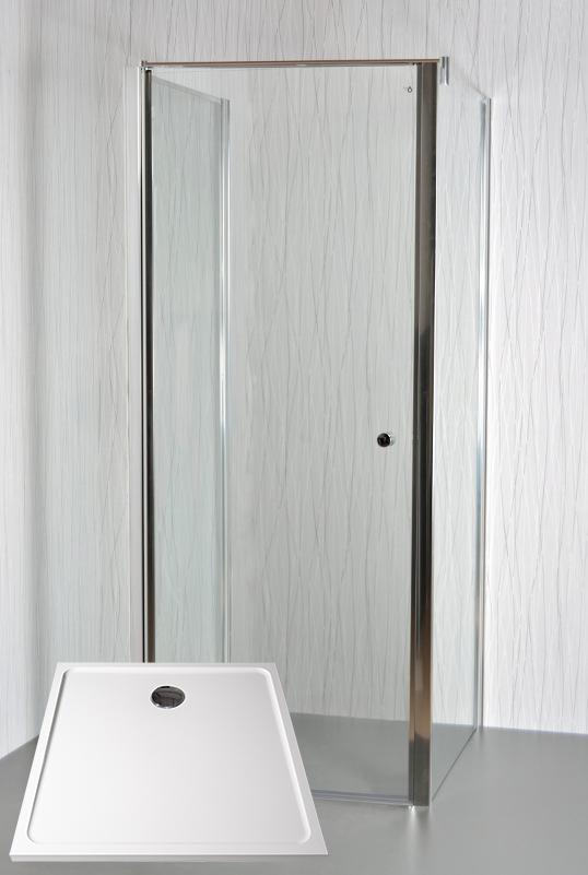 ARTTEC MOON B4 Sprchový kout 90 x 90 x 195 cm s vaničkou POLARIS 9090S PAN04471
