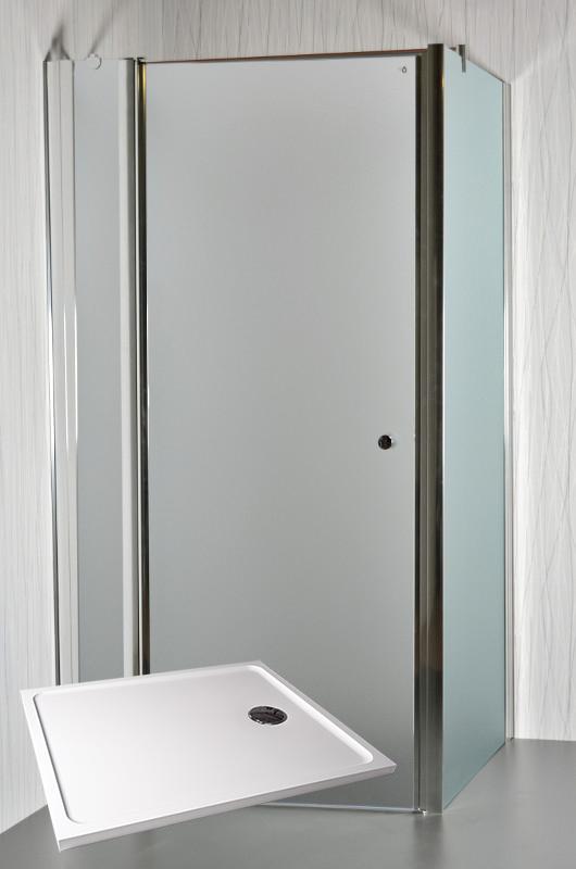 ARTTEC MOON D18 Sprchový kout 100 x 80 x 195 cm s vaničkou POLARIS 1080S PAN04496