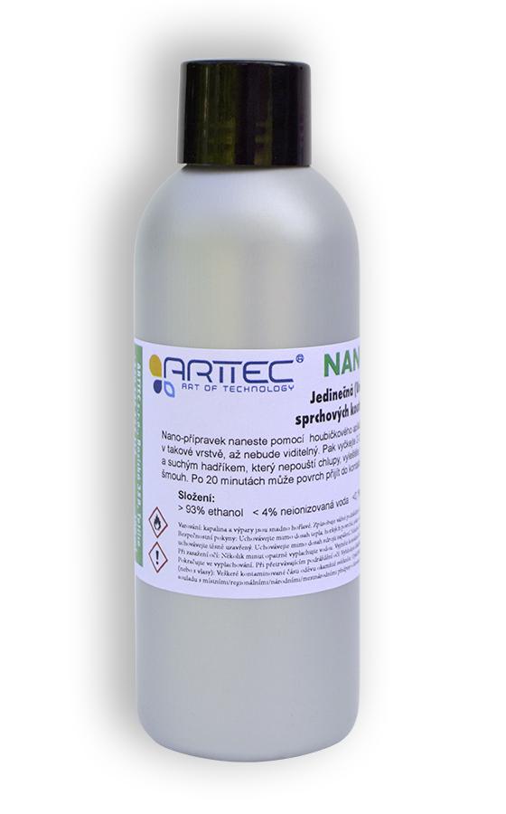 Arttec NANOPROTECT Nano-ochrana sprchových koutů 100 ml NAN00001