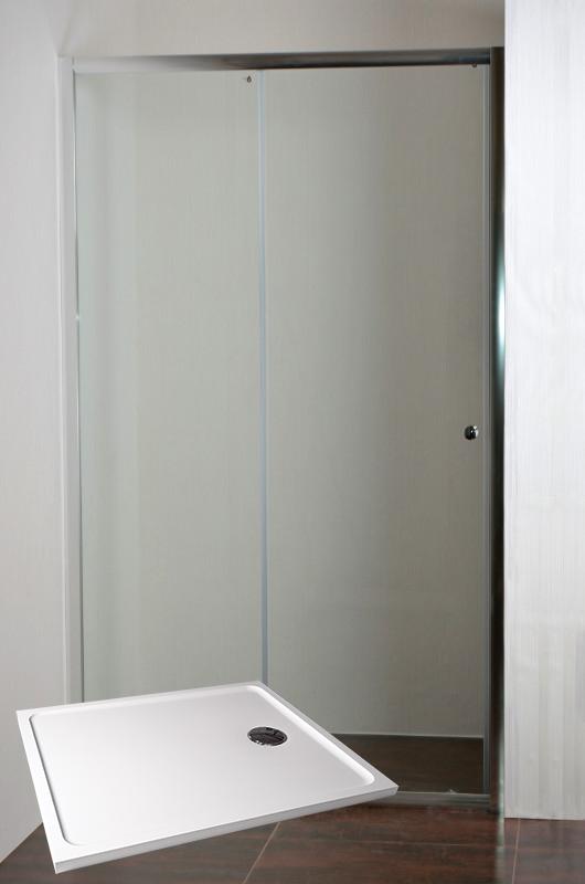 ARTTEC ONYX 120 Sprchové dveře do niky s vaničkou POLARIS 1290S PAN04508
