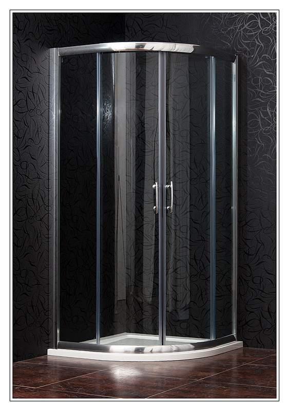 ARTTEC BRILIANT 80 clear NEW - Sprchový kout čtvrtkruhový