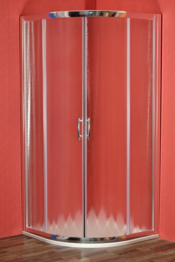ARTTEC BRILIANT 80 chinchila NEW - Sprchový kout čtvrtkruhový