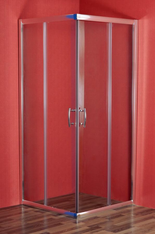 ARTTEC SMARAGD 80 clear Sprchový kout čtvercový 76,5 - 79 x 76,5 - 79 x 195 cm PAN00912
