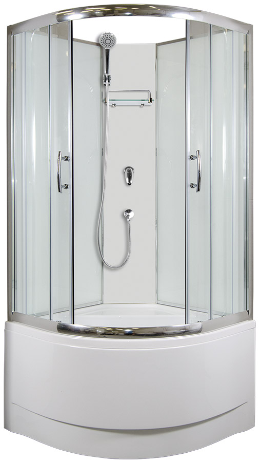 ARTTEC CALYPSO Sprchový box model 1 clear 90 x 90 cm PAN04427