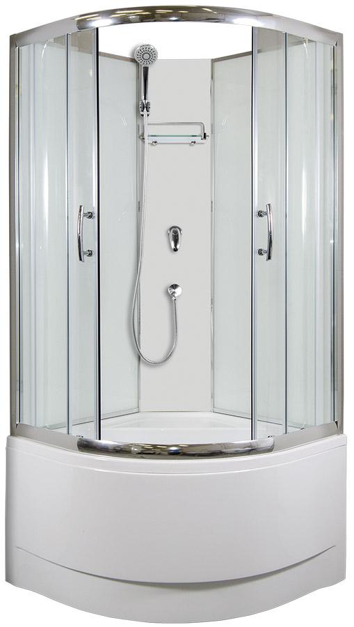 ARTTEC CALYPSO Sprchový box model 1 chinchila 90 x 90 cm PAN04428