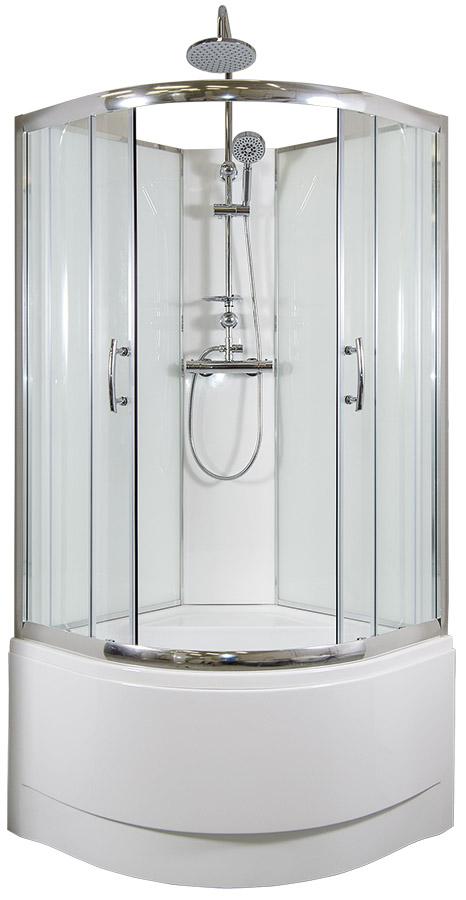ARTTEC CALYPSO Thermo sprchový box model 6 chinchila 90 x 90 cm PAN04432