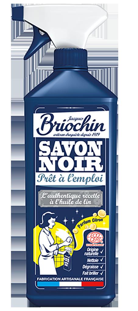 Briochin Černé mýdlo s vůní čerstvého citronu s rozprašovačem, 750ml